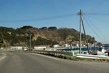 恵山南側の行き止まり道道635号 ...